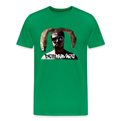 Deth Ravage (Green) - Men's Premium T-Shirt