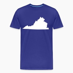 Royal blue State of Virginia solid Men