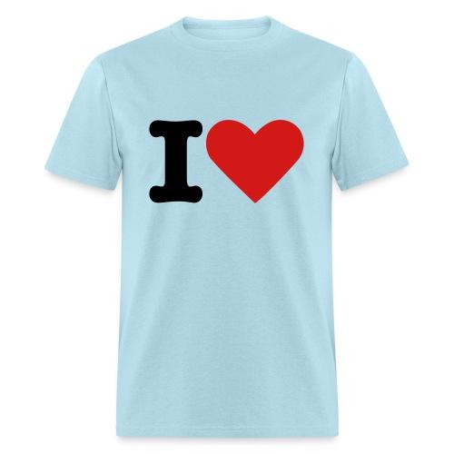 i heart chicks - Men's T-Shirt