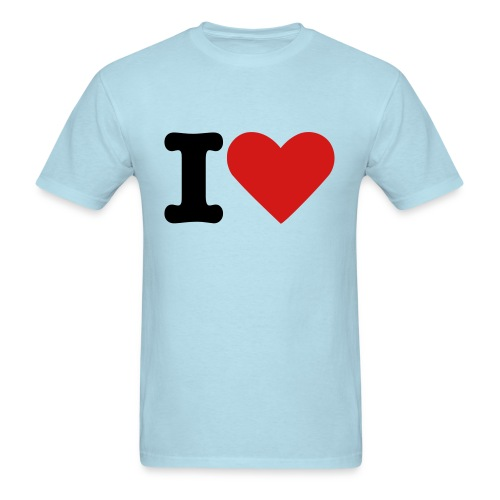 i heart chicks - Men's T-Shirt
