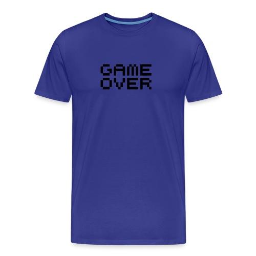 Game Over Blue - Men's Premium T-Shirt