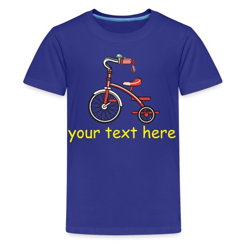 Add your own text - Kids' Premium T-Shirt