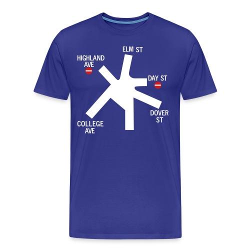 Holland St. Sign - Men's Premium T-Shirt