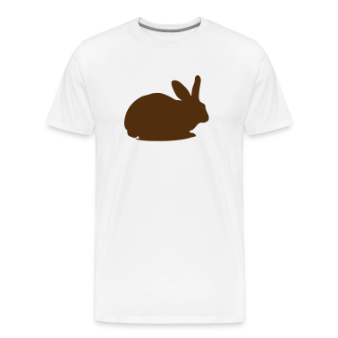 Natural Rabbit silhouette Men