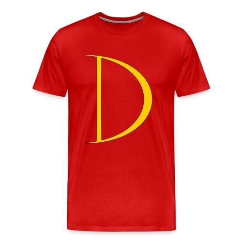 Captian Dynamo Logo Tee - Men's Premium T-Shirt