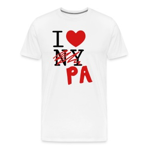 I Love PA Tee - Men's Premium T-Shirt