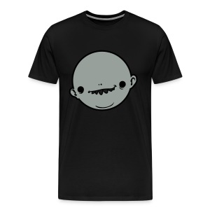 big head tee black - Men's Premium T-Shirt