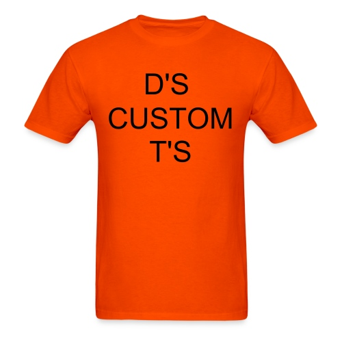 D'S CUSTOM TEE - Men's T-Shirt