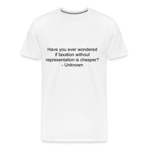 Quote tee - Men's Premium T-Shirt