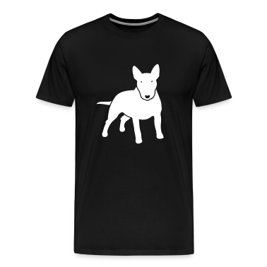 Black dogz_minibull_v2 T-Shirts (Short sleeve)