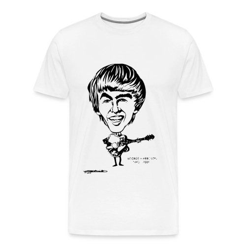 George Harrison - Men's Premium T-Shirt
