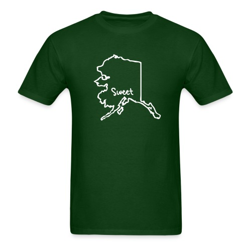 Sweet Alaska Green - Men's T-Shirt