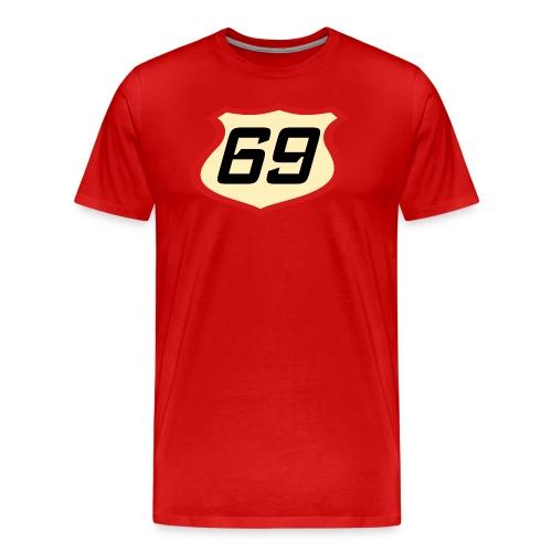 Red Tee 69 - Men's Premium T-Shirt