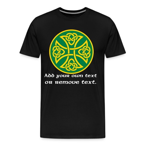 Celtic Knot Cross 3. - Men's Premium T-Shirt