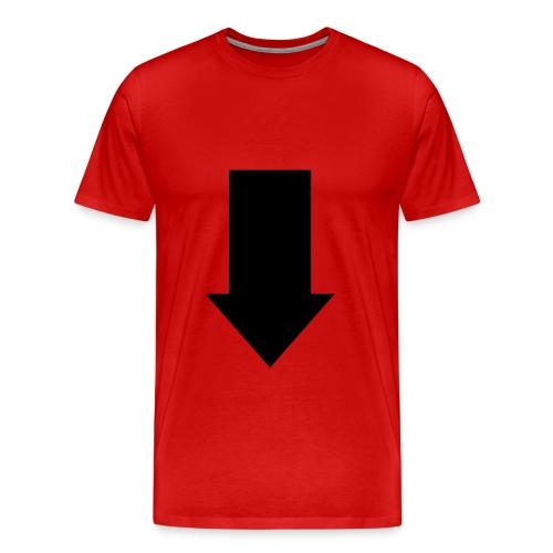 Look Down - Men's Premium T-Shirt