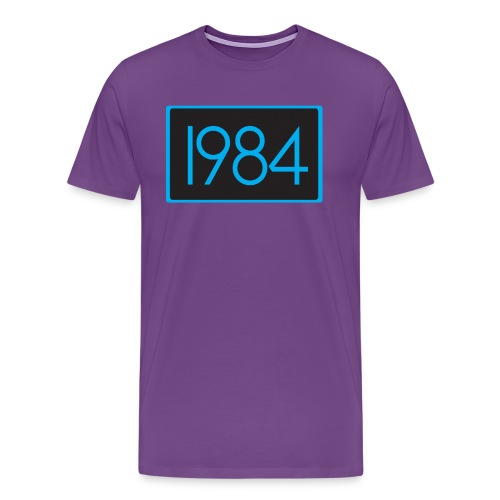 1984 Purple - Men's Premium T-Shirt