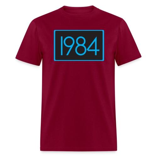 1984 Burgundy - Men's T-Shirt
