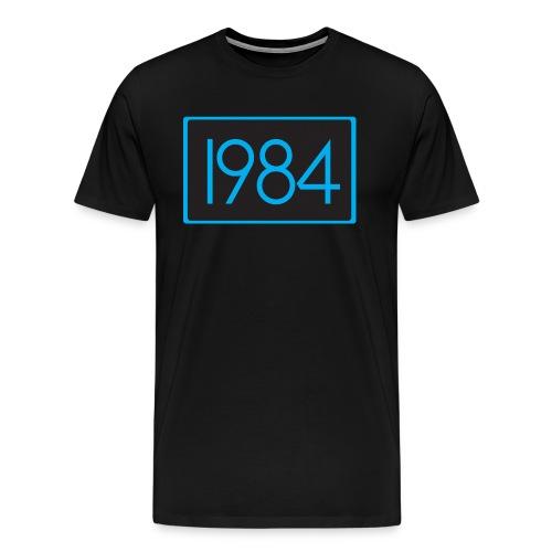1984 Black - Men's Premium T-Shirt