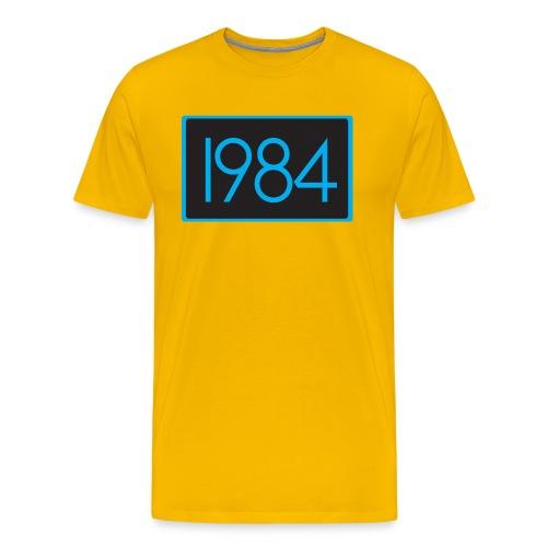 1984 Yellow - Men's Premium T-Shirt