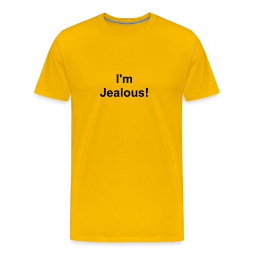 jealous - Men's Premium T-Shirt
