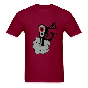 BADNESS OF THE GUN TEE - Men's T-Shirt