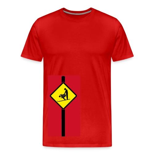 Skiing Coach - Men's Premium T-Shirt