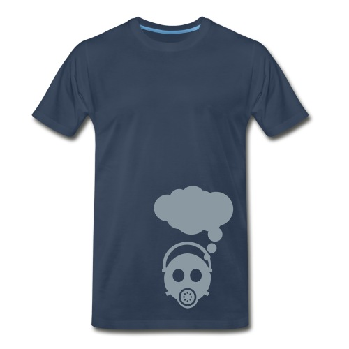 Clouded by Thoughts - Men's Premium T-Shirt