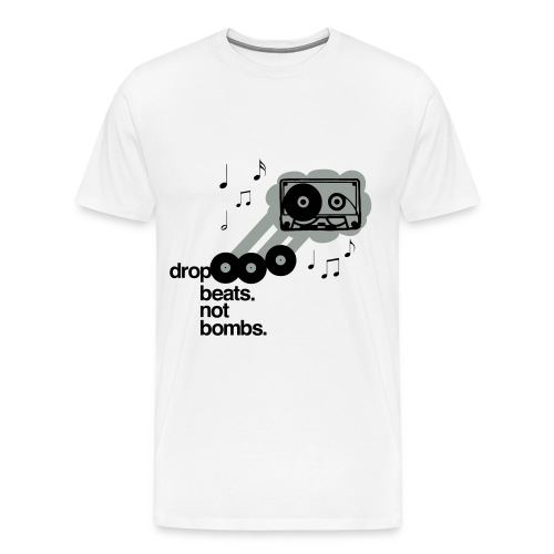 raining music - Men's Premium T-Shirt