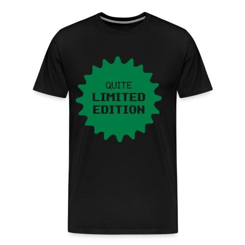 Limited Edition Shirt Black - Men's Premium T-Shirt