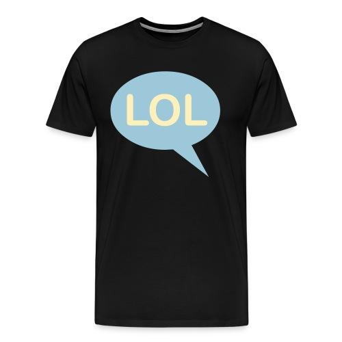LOL Black Shirt - Men's Premium T-Shirt