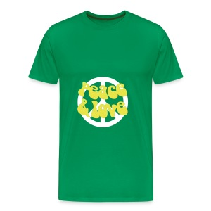 Peace, love & recycle - Men's Premium T-Shirt
