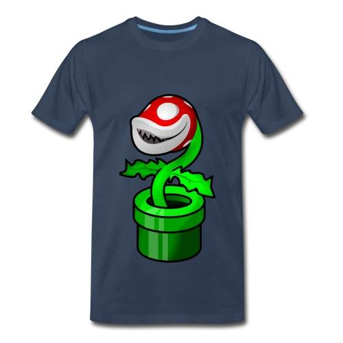 The Grinning Piranha Plant T-Shirt - Men's Premium T-Shirt