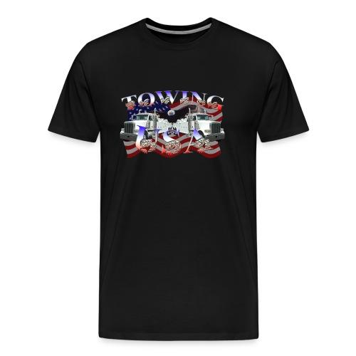 Towing USA XXXL Shirt - Men's Premium T-Shirt