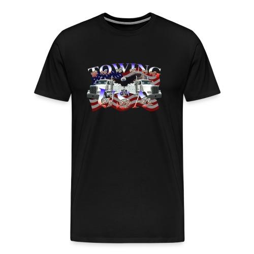 Towing USA Heavyweight Cotton Tee - Men's Premium T-Shirt
