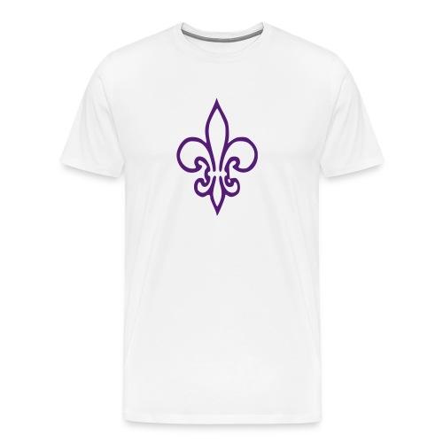 Royal Fleur de Lis - Men's Premium T-Shirt