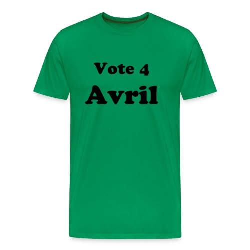Vote Avril - tee - Men's Premium T-Shirt