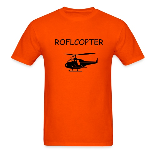ROFLCOPTER TEE - Men's T-Shirt