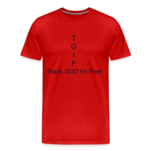 Thank GOD I'm Free shirt - Men's Premium T-Shirt