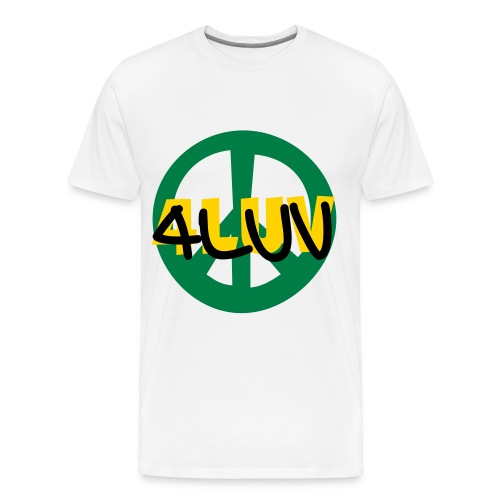 4Luv Peace Tee - Men's Premium T-Shirt