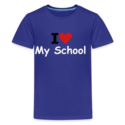 I love my school kids - Kids' Premium T-Shirt