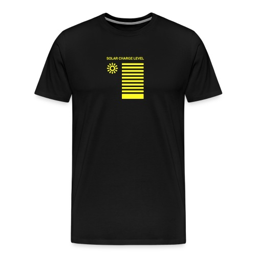 Solar Charge Level Opti - Men's Premium T-Shirt