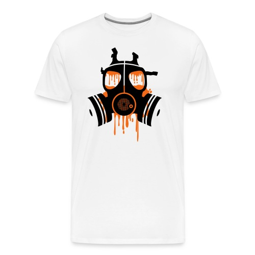 Orange Mogule Mask - Men's Premium T-Shirt