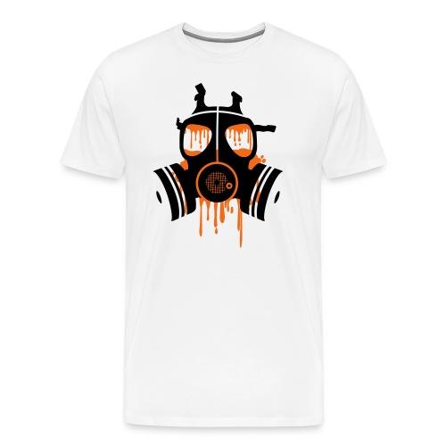Orange Mogule Mask - Men's Premium T-Shirt