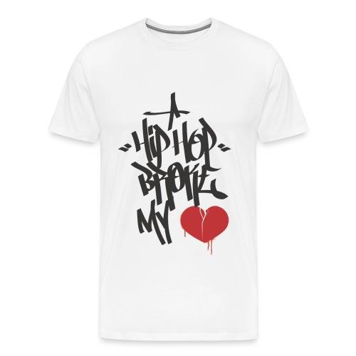 Hip Hop Broke My Heart - Men's Premium T-Shirt