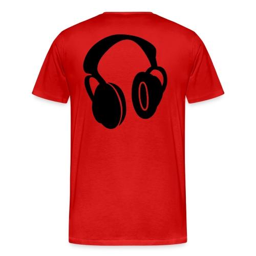 Headphone Tee - Men's Premium T-Shirt