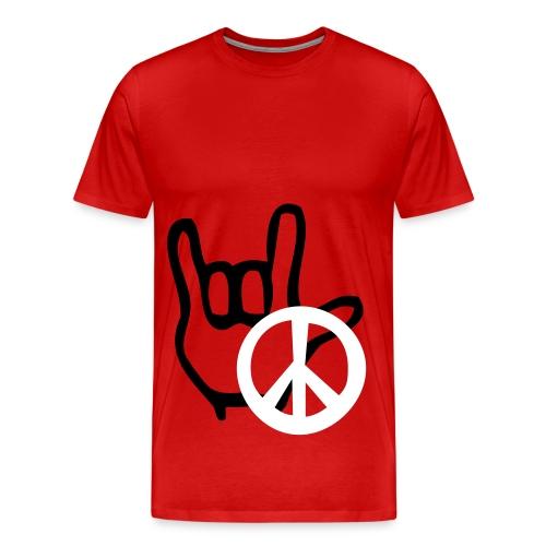 Peace Tee - Men's Premium T-Shirt