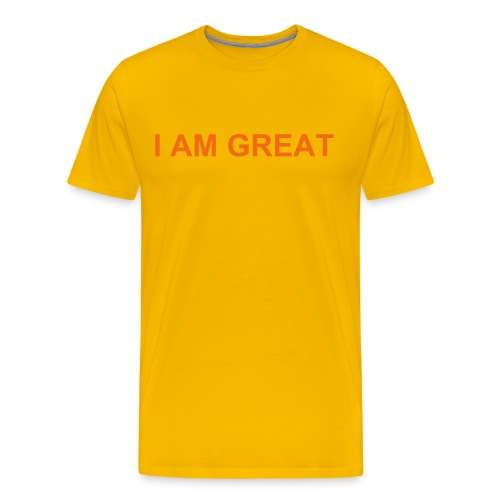 I AM GREAT - Men's Premium T-Shirt