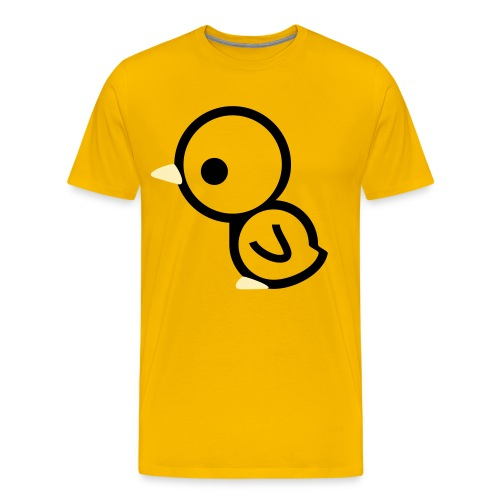 chicken face. - Men's Premium T-Shirt