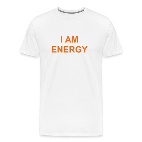I AM ENERGY-I AM POSITIVE ENERGY - Men's Premium T-Shirt