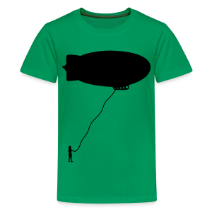 Writeable Blimp - Kids' Premium T-Shirt